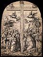 Saint Catherine of Siena, Saint Mary Magdalen, Saint Catheri Wellcome V0033224.jpg