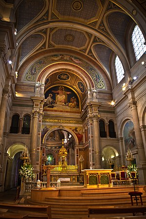 Saint-François-Xavier, Paris - Altar