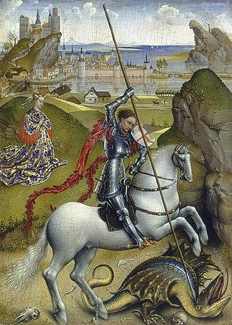Ailsa Mellon Bruce - Image: Saint George and the Dragon Rogier