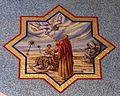 Saint Mary Magdalene Church (Columbus, Ohio) - mosaic, Abraham offers Isaac.jpg