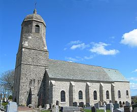 The church of Sainte-Croix