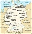 Kartta Saksa