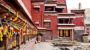 Shigatse - Image: Sakya monastery