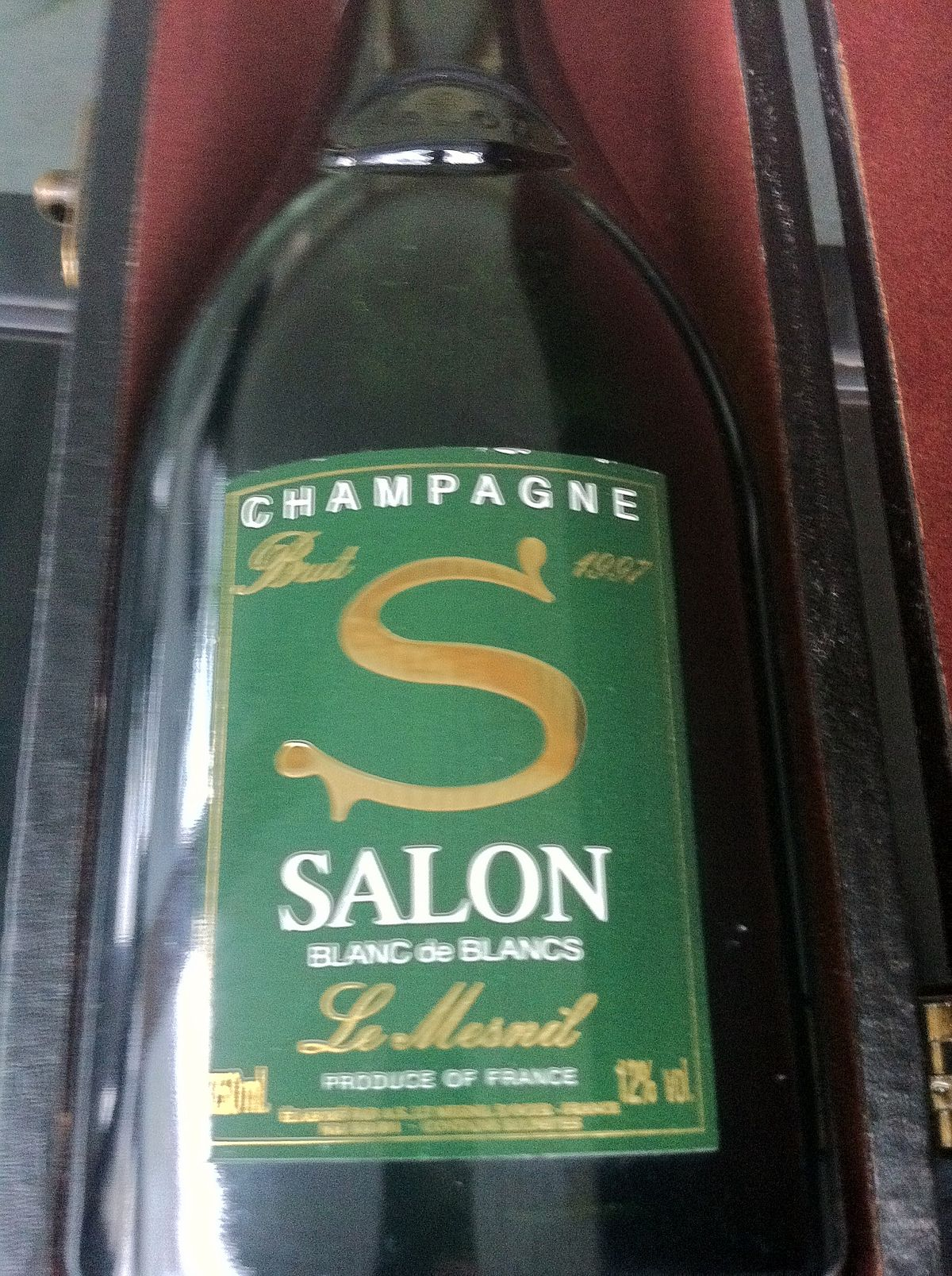 Champagne salon wikipedia for 1997 champagne salon