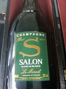 Champagne salon wikipedia for Salon blanc de blanc