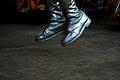 Salto, botas plateadas en la Fiesta de los Chalis en Comachuén 02.jpg