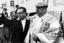 Neruda e Salvador Allende