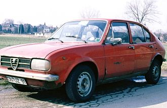 Alfa Romeo Alfasud - Rusty Alfa Romeo Alfasud (about 6 years, and 88,000 km old).