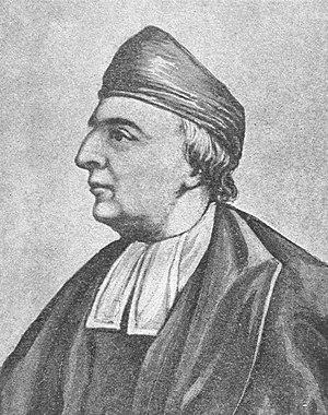 Samuel Wesley (poet) - Portrait of Wesley