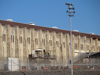 San Quentin State Prison - San Quentin prisoners on recreation
