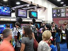 San Diego Comic-Con 2011 - the Behemoth booth (6004004455).jpg