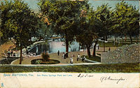 San Pedro Springs Park and Lake, San Antonio, Texas.jpg