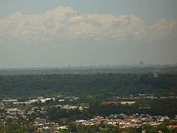 San Cristóbal With Santo Domingo In The Background