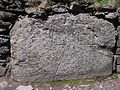 Sanctuary Stone, Glendalough - close up.JPG