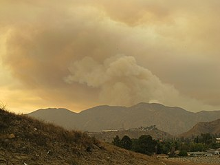 Sand Fire (2016) wildfire in Los Angeles County, California