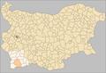 Sandanski Municipality Bulgaria map.png