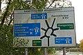 Sandyknowes roundabout near Belfast (1) - geograph.org.uk - 596287.jpg