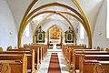 Sankt Georgen a L Lausdorf Pfarrkirche Mariae Himmelfahrt Kirchenschiff 12032013 115.jpg