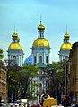 Sankt Petersburg - Nicholas' Naval Cathedral - Морской Николая собор - panoramio.jpg