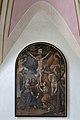 Sankt Ulrich Kirche in Pinzagen Kreuzigungsgruppe Deckenfresko.jpg
