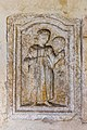 Sankt Veit Sankt Donat Pfarrkirche hl. Donatus Turmvorhalle Dienerinnenrelief 18102015 8091.jpg