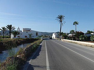 Hamlet in Balearic Islands, Spain