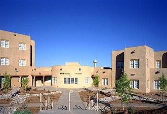 Santa Fe Indian School - Image: Santa Fe Indian School in New Mexico