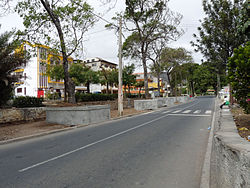 Main street of São Domingos