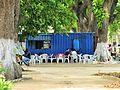 Sao Tome Paraiso dos Grelhados Blue Container 1 (16062955199).jpg