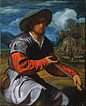 Savoldo, Giovanni Girolamo - Shepherd with a Flute - Google Art Project.jpg
