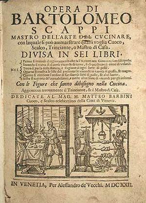 Bartolomeo Scappi - Edition of 1622