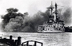 Schleswig Holstein firing Westerplatte September 1939.jpg
