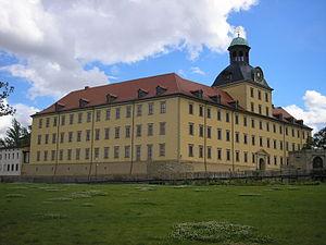 Schloss Moritzburg (Zeitz) - Side view