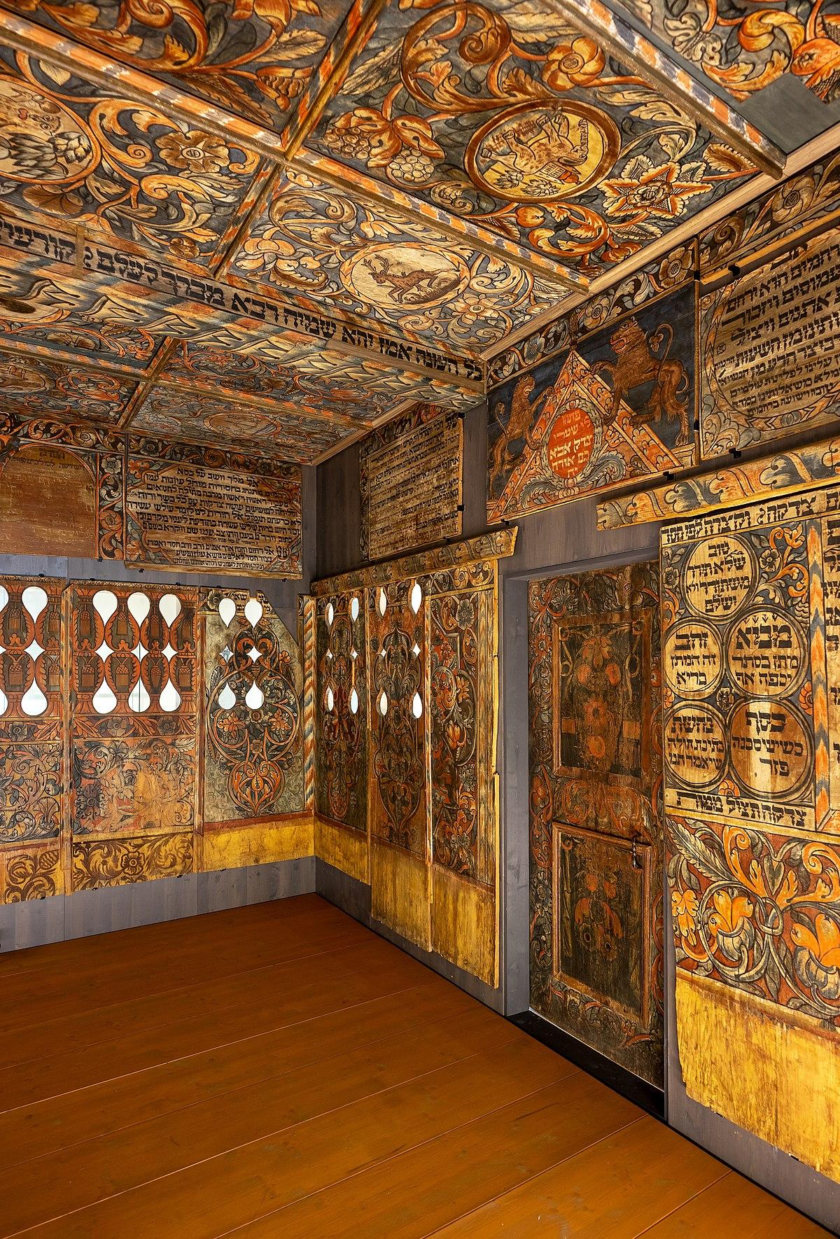 Datei Schwäbisch Hall Hällisch Fränkisches Museum Vertäfelung Der Unterlimpurger Synagoge Rechts Jpg Wikipedia