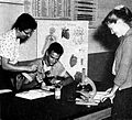 Science lesson at George Cannon School Midway in 1959.jpg