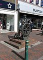 Sculpture, High Street, Sittingbourne - geograph.org.uk - 374706.jpg