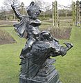 Sculpture 'The Lost Bow'-Queen Mary's Garden-Regents Park-London.JPG