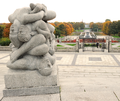 Sculptures in Vigeland Installation in Frogner Park in Oslo Norway.png