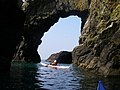 Sea Arch under the Mull of Logan - geograph.org.uk - 406914.jpg