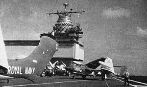 USS Enterprise (CVN-65) - Sea Vixens of 893 NAS operating from Enterprise in 1962.