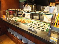 Seafood on Spice Market Counter 20120128.jpg