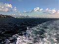 Seattle, WA Skyline in Distance From Elliot Bay, 2007 - panoramio.jpg