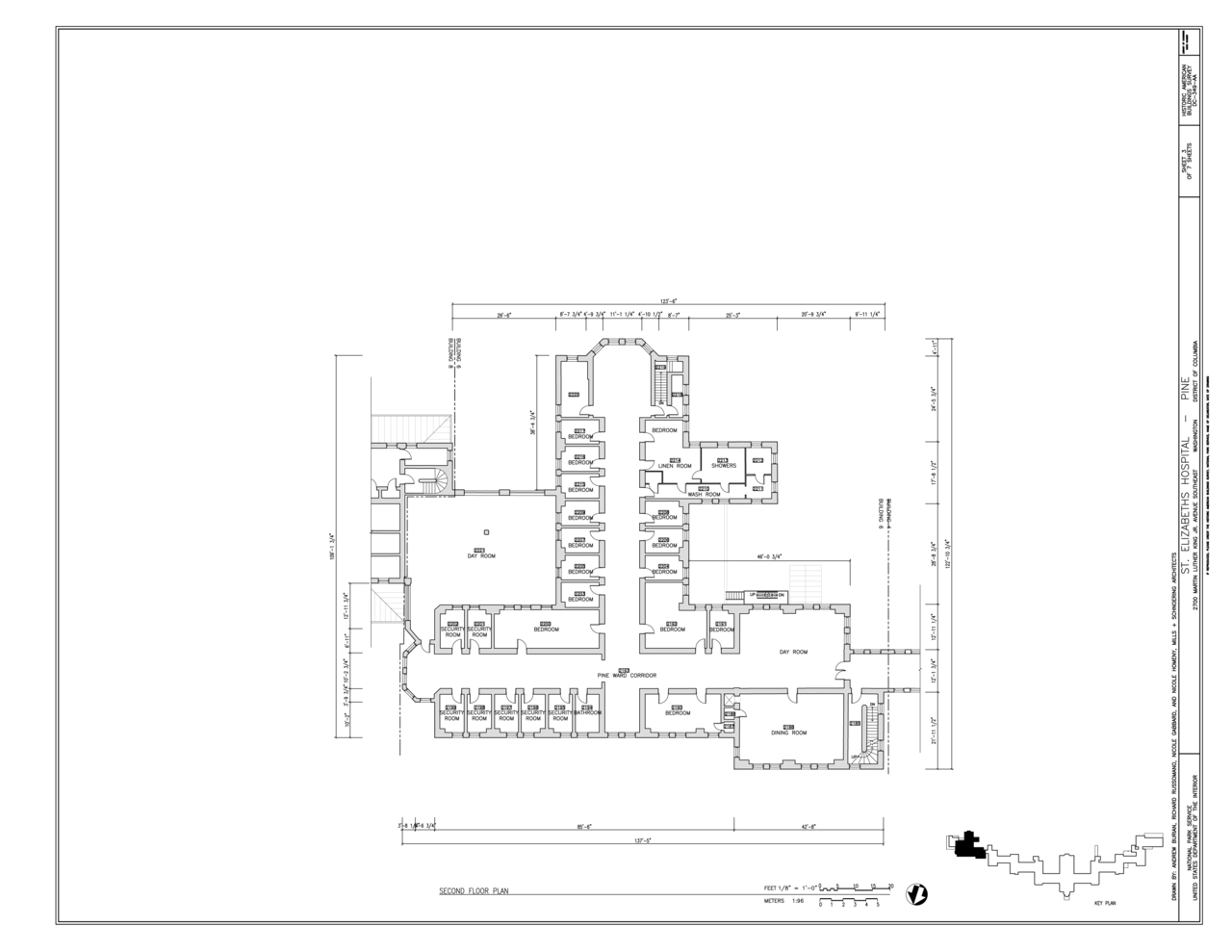 File second floor plan st elizabeths hospital pine for 539 plan
