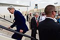 Secretary Kerry Boards Plane in Saudi Arabia, Headed for France After Visits to Sri Lanka, Africa (17196798627).jpg