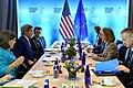 Secretary Kerry Meets With EU High Representative Mogherini at the 2016 Nuclear Security Summit in Washington (26105331341).jpg