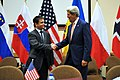 Secretary Kerry Shakes Hands With Ukrainian Foreign Minister Klimkin at NATO Headquarters in Brussels (14318611278).jpg