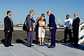 Secretary Kerry is Greeted by Cuban Ministry of Foreign Affairs Deputy Chief of Protocol Gonzales Upon His Arrival in Havana (20575357021).jpg