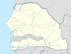 Dakar is located in Senegal