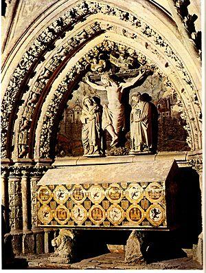 Ferdinand de la Cerda - Image: Sepulcro de Don Fernando de la Cerda, hijo de Alfonso X el Sabio