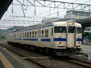 717 series - JR Kyushu 717-200 series set, August 2003